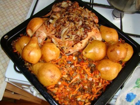 Курица грушей рецепты фото